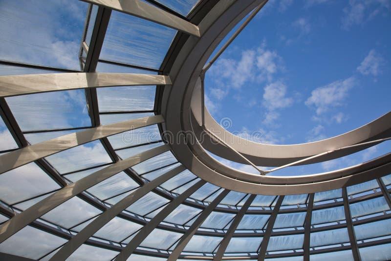 Abóbada de Reichstag em Berlim foto de stock royalty free