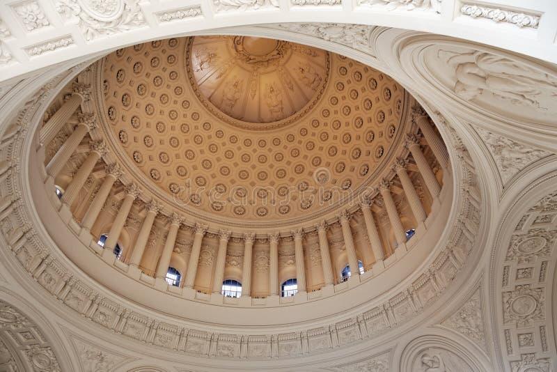 Abóbada de San Francisco City Hall imagens de stock