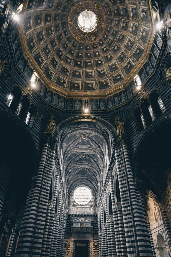 A abóbada de Siena fotografia de stock