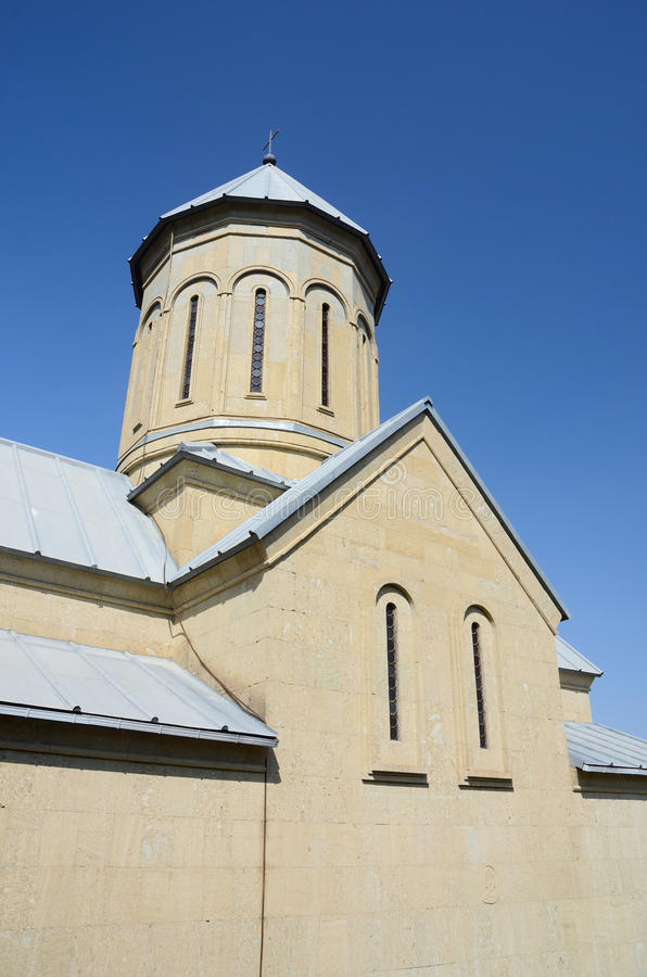 Abóbada de St Nicholas Church, fortaleza de Narikala, Tbilisi fotos de stock