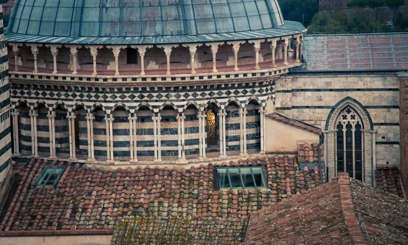 Abóbada de uma catedral Siena fotos de stock royalty free