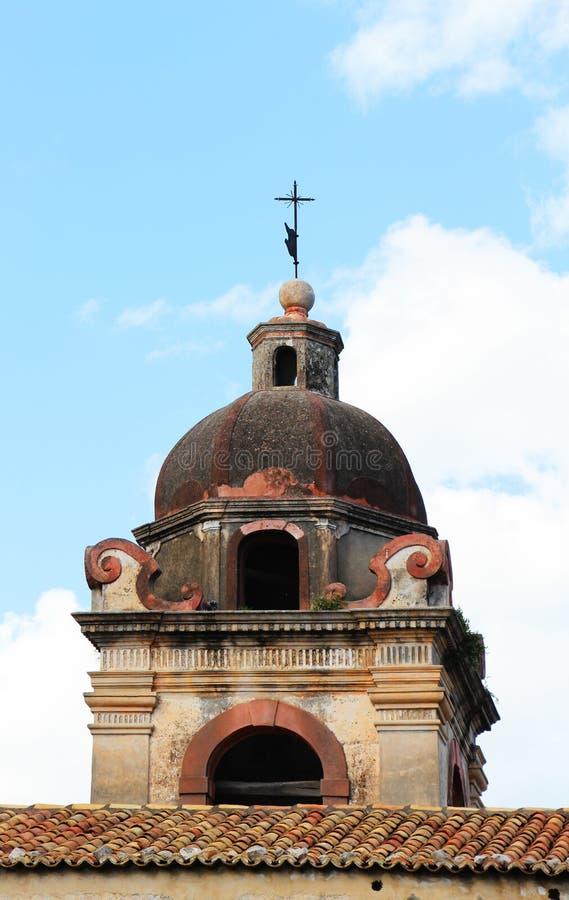 Abóbada de uma igreja barroco, detalhe fotos de stock