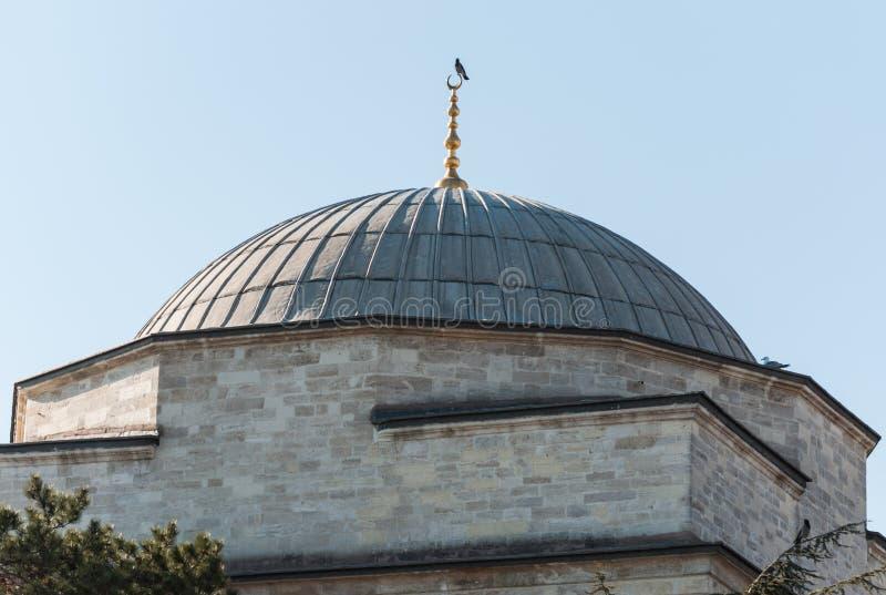 Abóbada de uma mesquita fotografia de stock