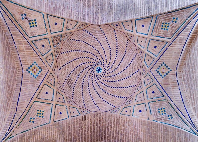 Abóbada de uma mesquita antiga imagens de stock