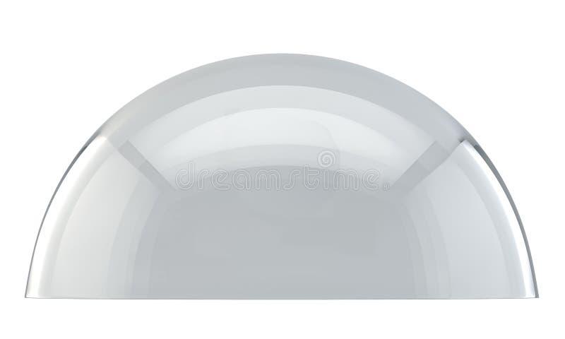 Abóbada de vidro ilustração stock