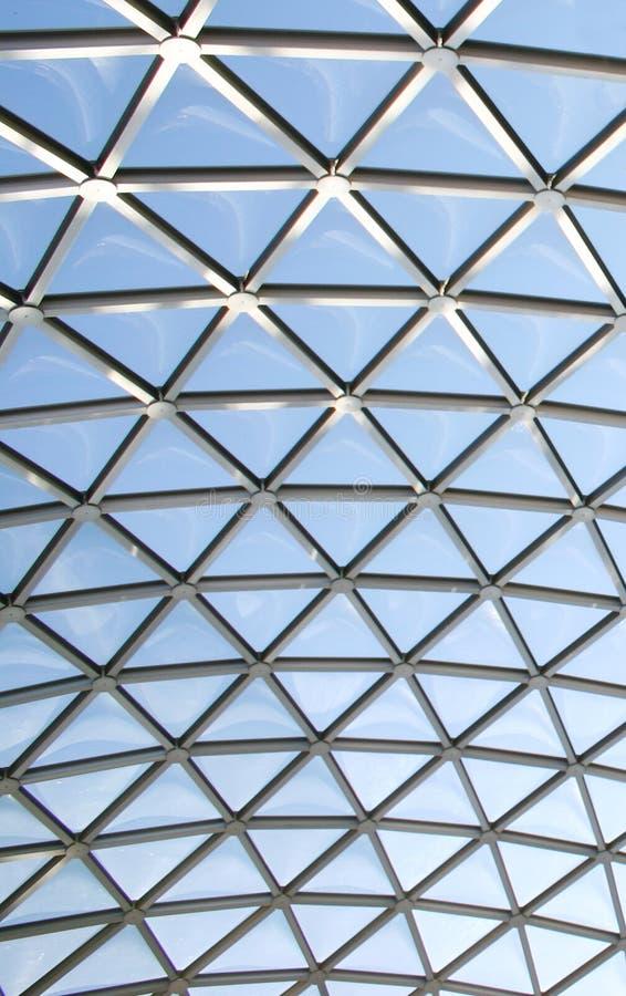 Download Abóbada de vidro imagem de stock. Imagem de abóbada, fundo - 69787