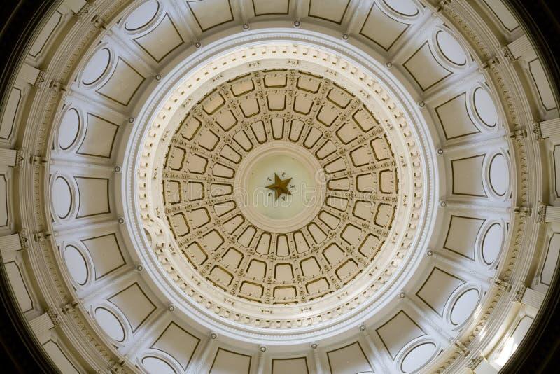Abóbada do Capitólio do estado de Texas foto de stock royalty free