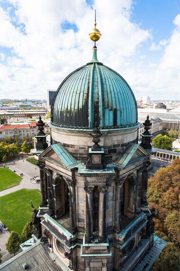 Abóbada dos DOM do berlinês da catedral de Berlim imagem de stock royalty free