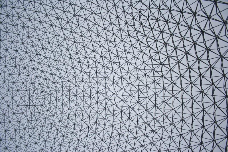 Abóbada Geodesic mais cheia de Buckminster imagens de stock