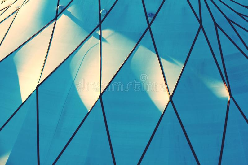 Abóbada Geometrics fotografia de stock