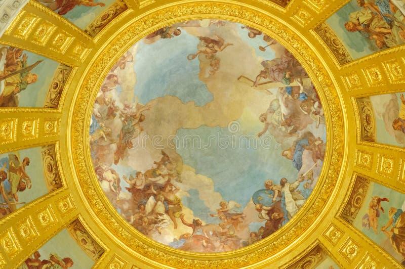 A abóbada sobre o túmulo de Napoleon fotos de stock royalty free