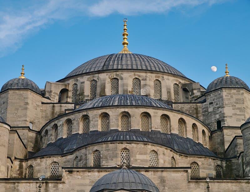 Ab?badas azuis do camii de Sultanhmet da mesquita fotografia de stock
