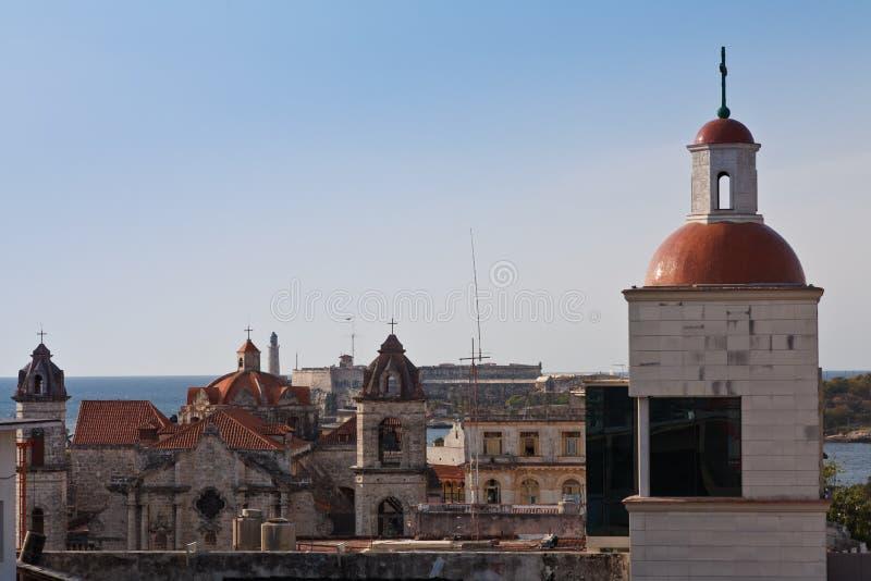 Abóbadas de Havana foto de stock