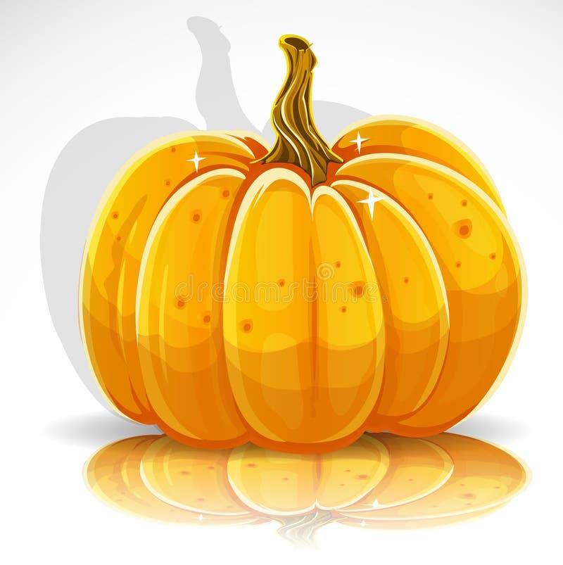 Abóbora bonita 1 de Halloween ilustração stock