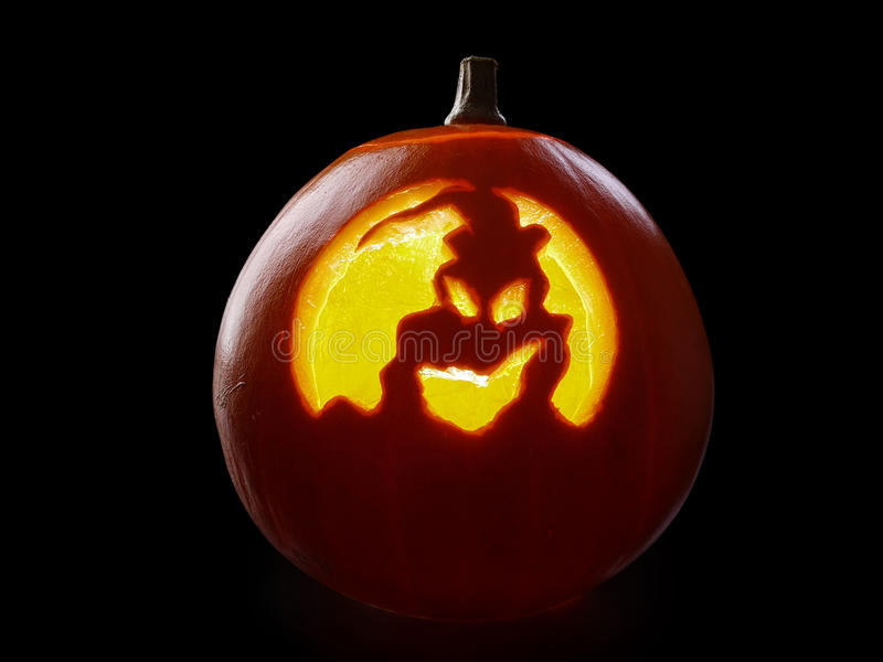 Download Abóbora da Jack-o-lanterna foto de stock. Imagem de spooky - 29841868