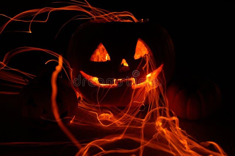 Abóbora de Halloween fotos de stock