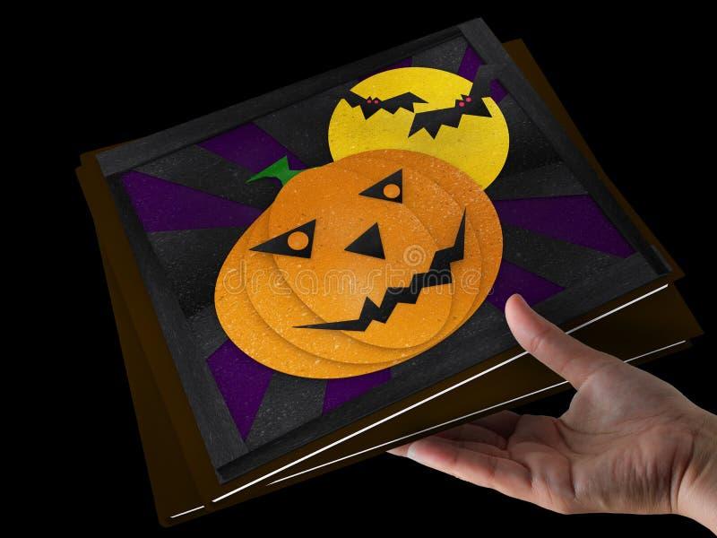Download Abóbora de Halloween ilustração stock. Ilustração de costume - 26520955