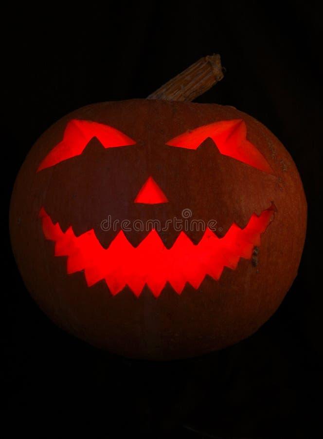 Abóbora de Halloween isolada fotos de stock royalty free