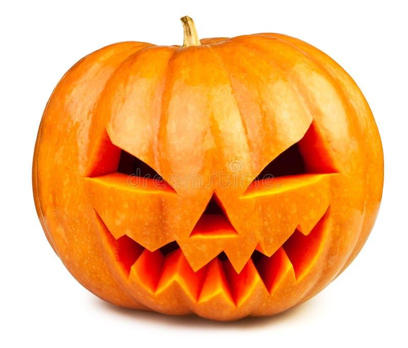 Abóbora Halloween fotografia de stock royalty free