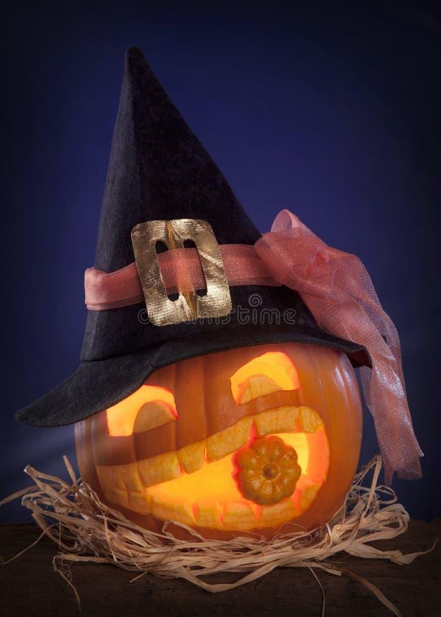 Abóboras de Halloween foto de stock royalty free