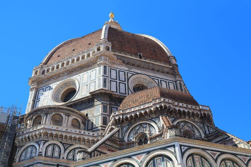 Ab?bada de Brunelleschi, Floren?a imagens de stock