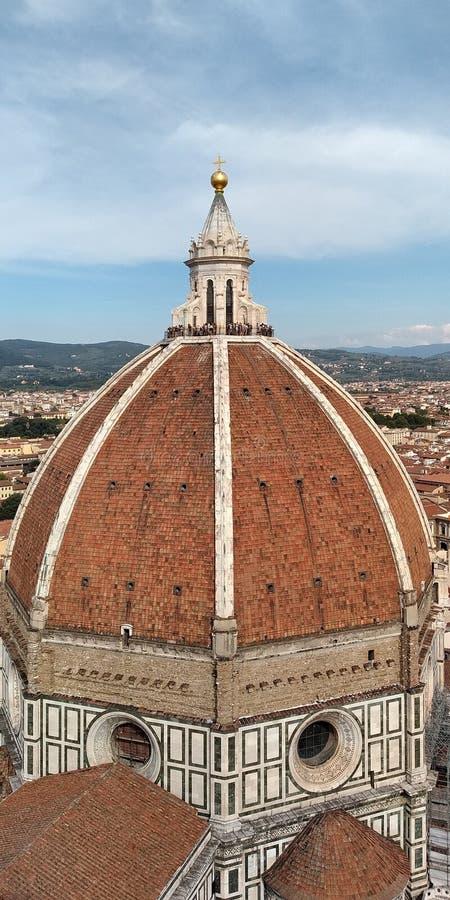 Ab?bada de Brunelleschi, Floren?a fotografia de stock royalty free