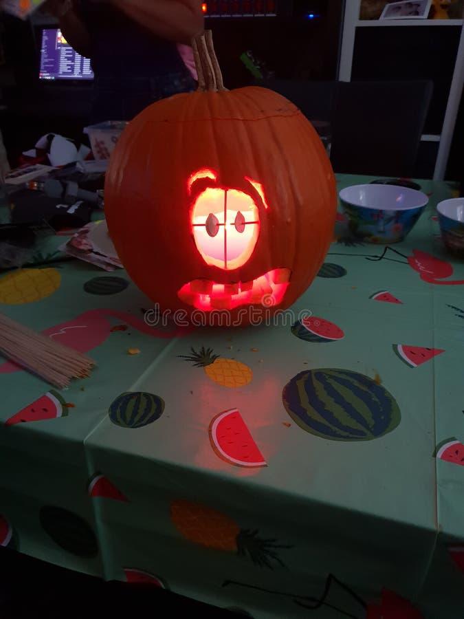 Ab?bora para Halloween fotografia de stock royalty free
