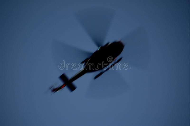 AB412 - Der Elicopter der italienischen Feuerwehrmänner stockfotografie
