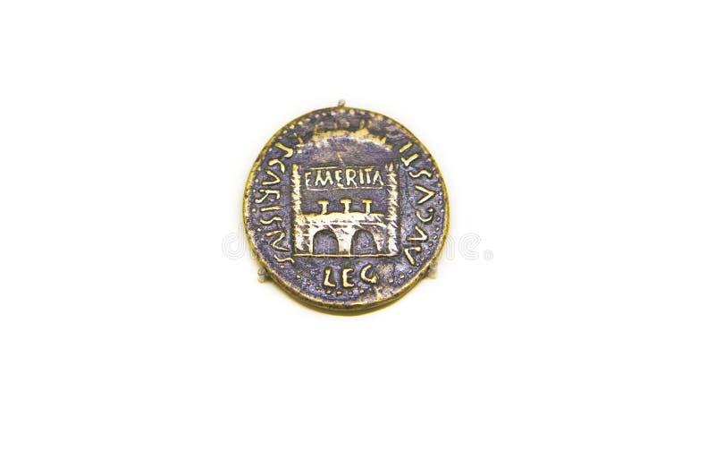 Ab Emerita Augusta mit der Stadttür 23 BC lizenzfreies stockbild