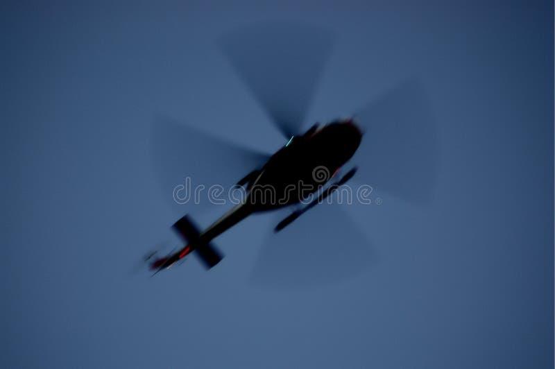 AB412 - O Elicopter dos sapadores-bombeiros italianos fotografia de stock