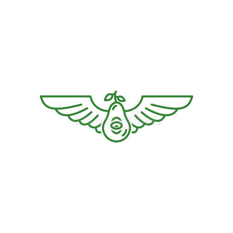 Abacate da mosca imagens de stock