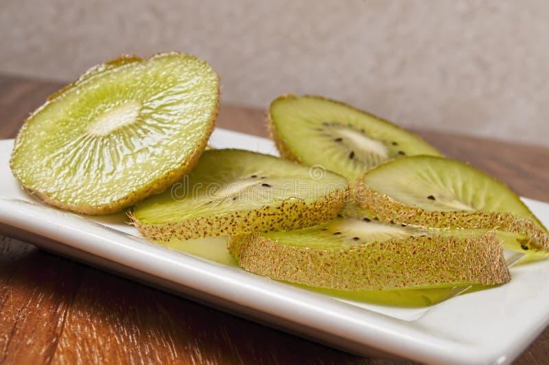 Abacate fresco cortado, imagens de stock