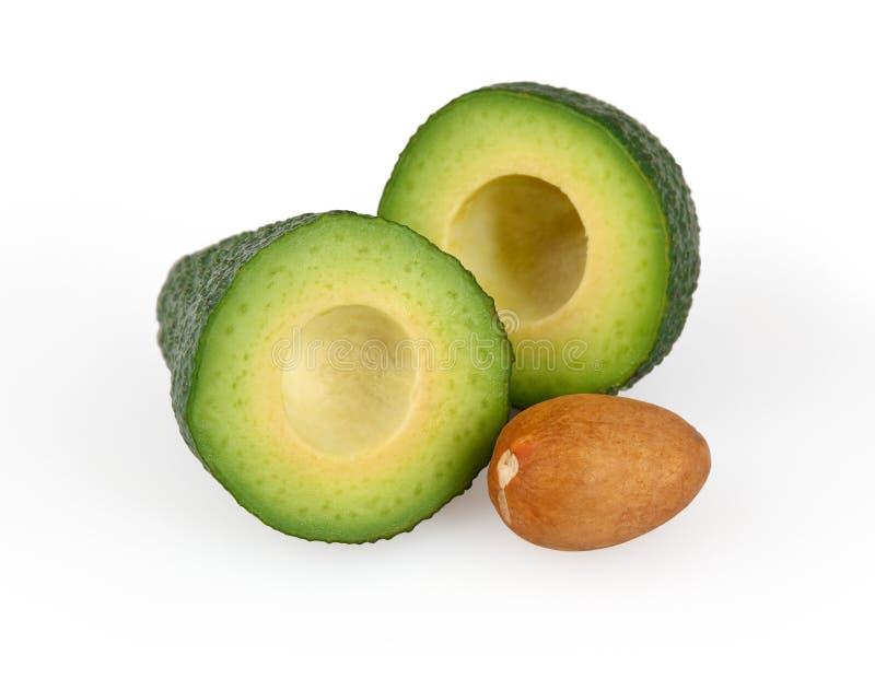 Download Abacate isolado no branco imagem de stock. Imagem de fatia - 26522621
