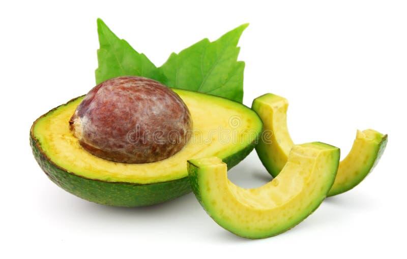 Abacate maduro fresco imagens de stock royalty free