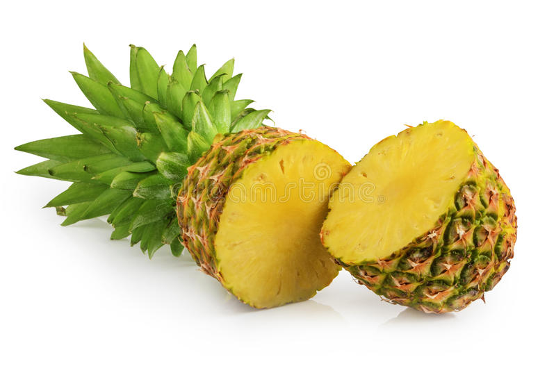 Abacaxi isolado imagem de stock