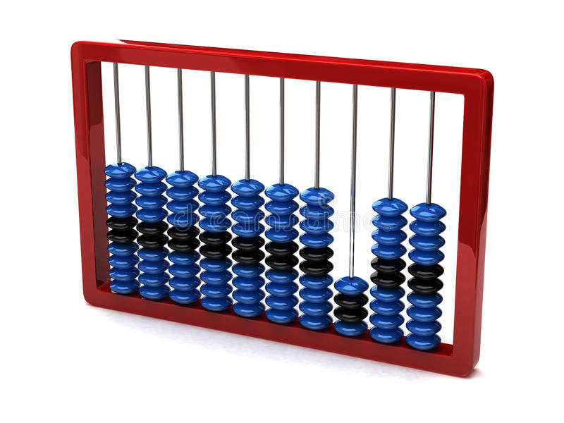 Download Abacus stock illustration. Illustration of counting, background - 13002258