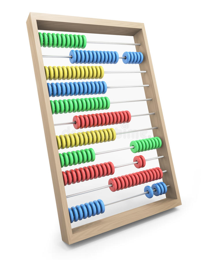 Download Abacus stock illustration. Illustration of learning, counting - 15237397