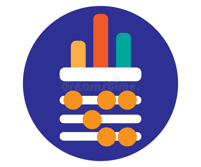 Download Abacus And Chart Design Stock Vector - Image: 83704736