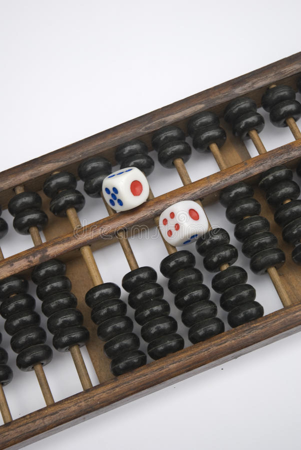 Abacus And Dice Stock Images