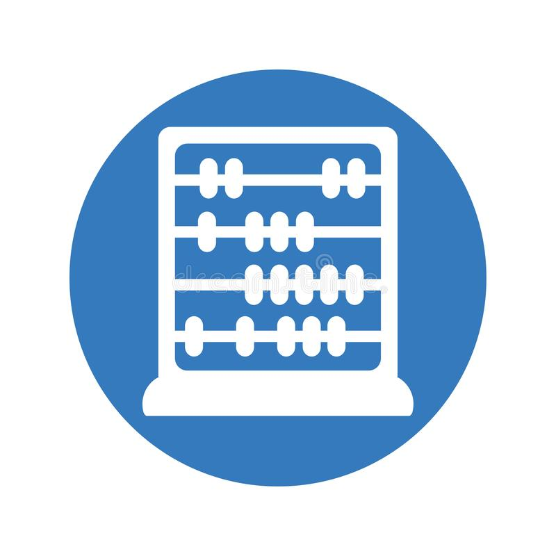 Abacus Icon. For commercial use. This icon will be helped you a lot. thanks stock illustration