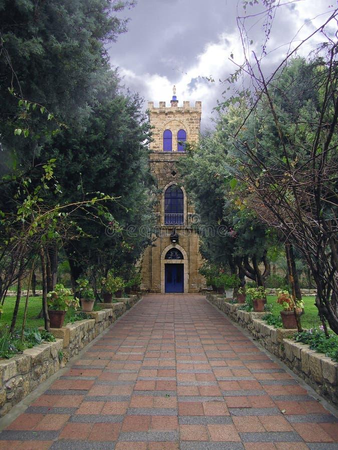 Abadía foto de archivo