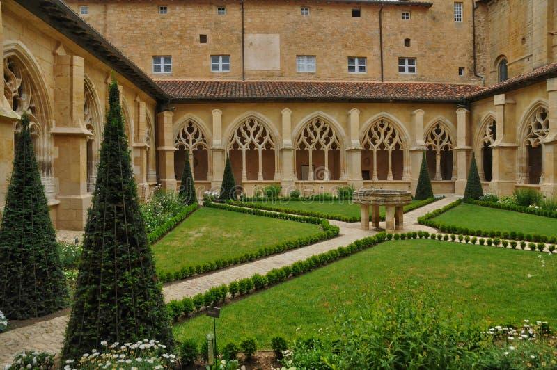 Abadía de Cadouin en Perigord imágenes de archivo libres de regalías