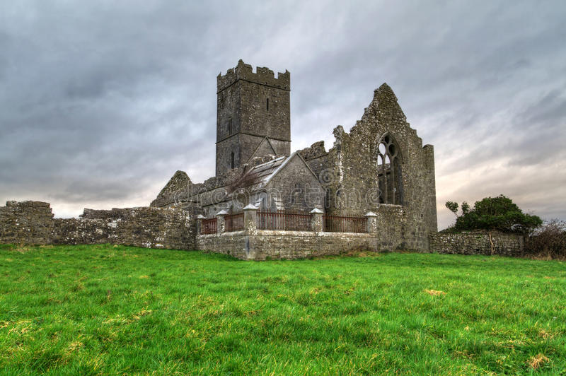 Abadía De Clare Fotografía de archivo