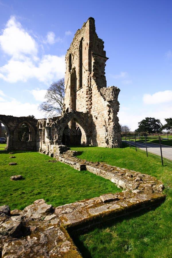 Abadía de Croxden fotos de archivo libres de regalías