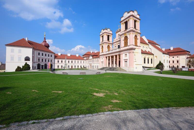 Abadía de Goettweig austria fotos de archivo