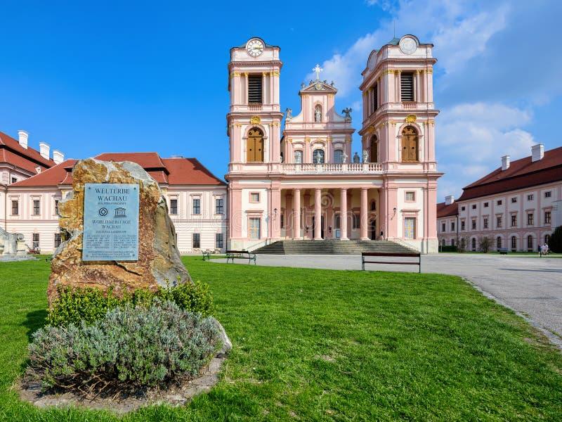 Abadía de Goettweig - monasterio benedictino cerca de la ciudad de Krems en una Austria más baja, fundada en 1083 Austria, Europa fotos de archivo libres de regalías