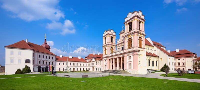 Abadía de Goettweig - monasterio benedictino cerca de la ciudad de Krems en una Austria más baja, fundada en 1083 Austria, Europa imagenes de archivo