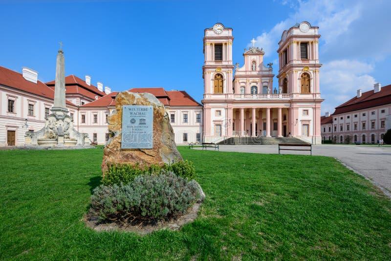 Abadía de Goettweig Una Austria más baja fotografía de archivo libre de regalías