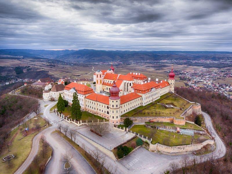 Abadía de Gottweig en Wachau, una Austria más baja imagen de archivo libre de regalías