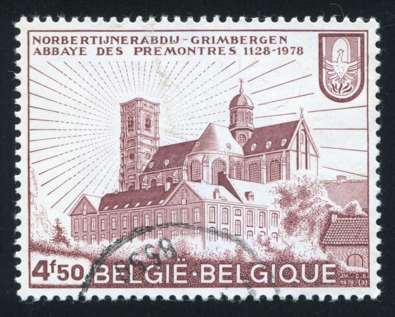 Abadía de Grimbergen fotos de archivo libres de regalías